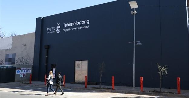 Tshimologong Digital Innovation Precinct offices in Braamfontein