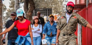 DJ Sbu teaches an indebted Pretria University selling how to sell his MoFaya energy drinks in the streets and earn money