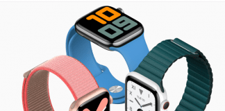 Apple Watch Series 5 cellular available in various shades