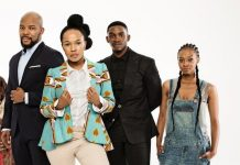 The cast of popular South African telenovela posing for a promotional picture