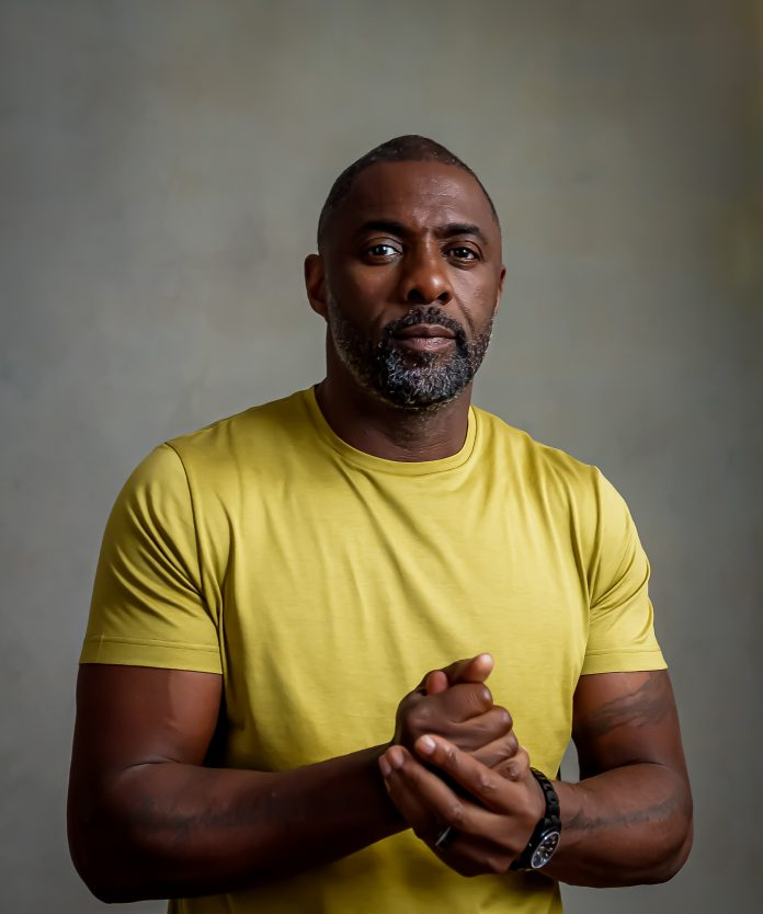 Hollywood superstar Idris Elba poses for a picture.
